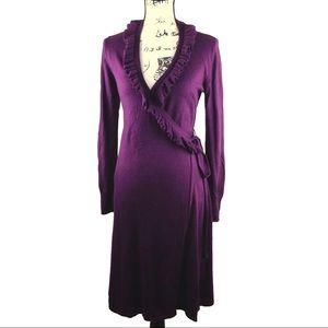 Merona Wrap Sweater Dress